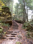 Stairs of Hocking Hills