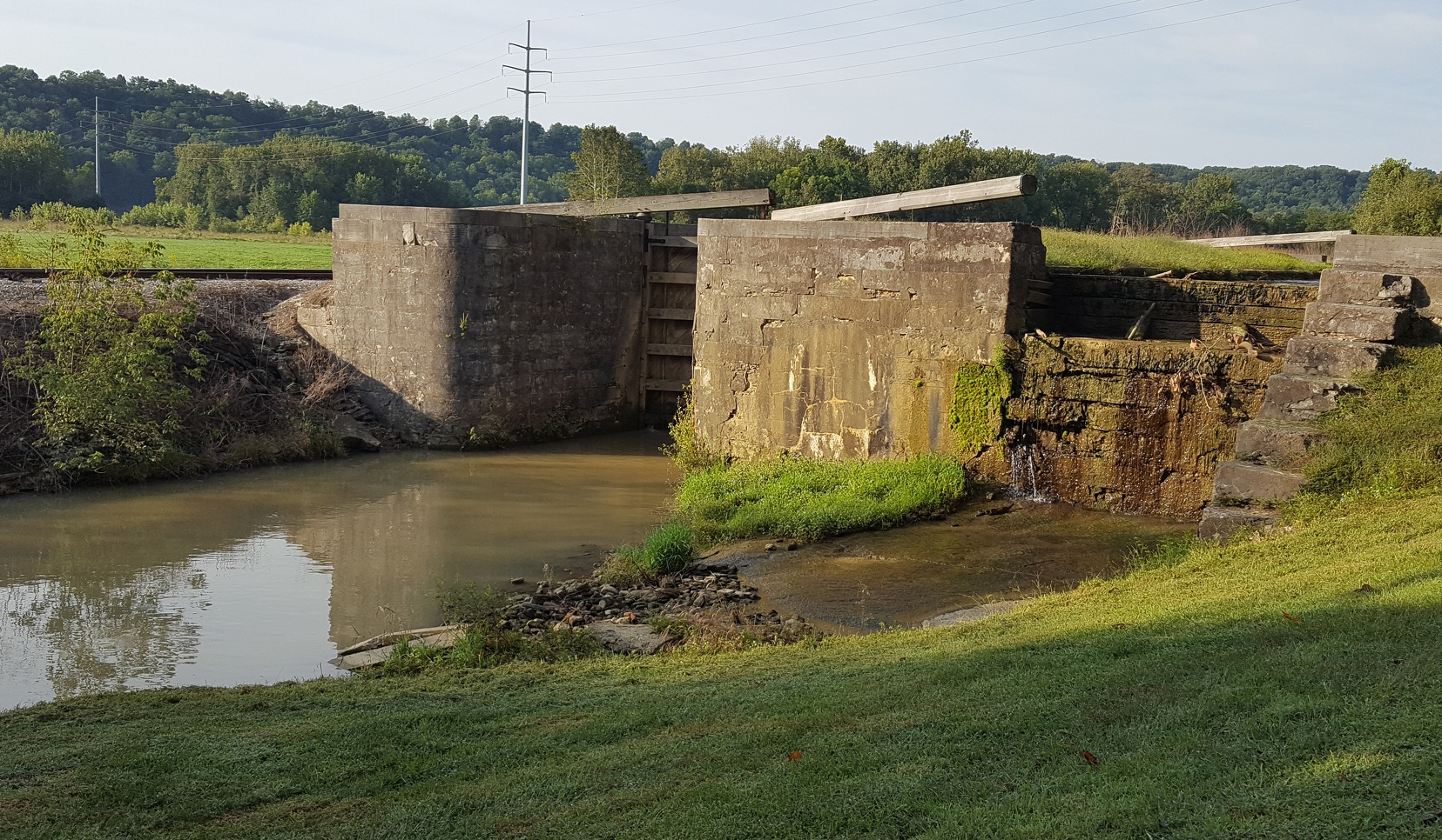Whitewater Canal in Indiana