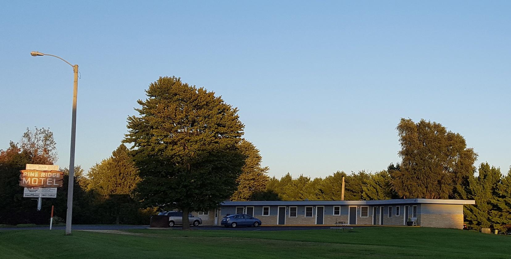 The Pine Ridge Motel.