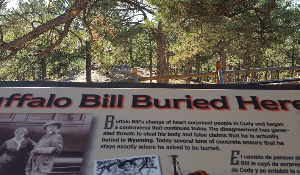 On the off-chance that Buffalo Bill comes back as a vampire, we have buried him under
