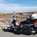 Scooter at Colorado National Monument