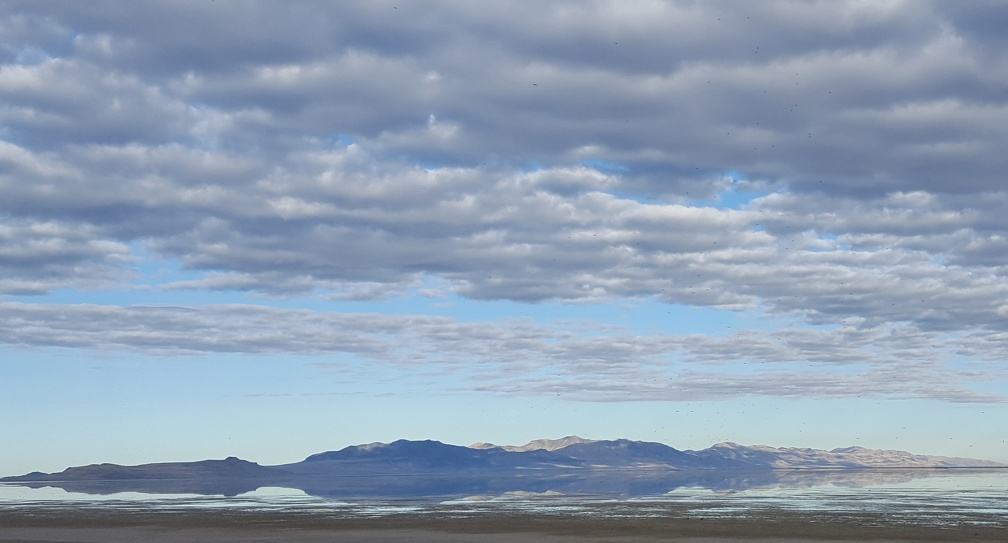 Reflections from Antelope Island