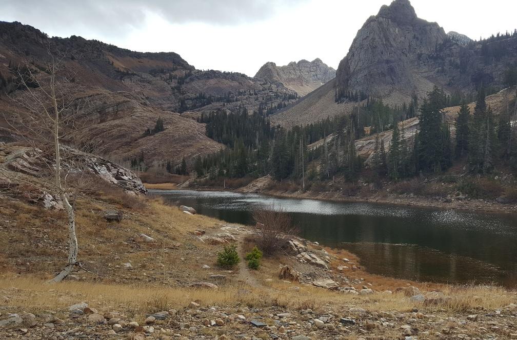 Lake Blanche!
