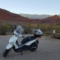 Scooter at Red Cliffs