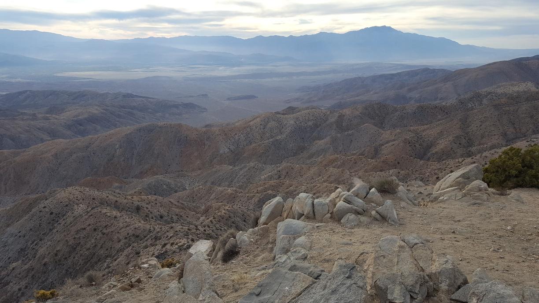 Keys View overlooking Palm Springs