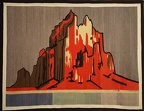 Shiprock Pictorial Textile