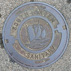 South Haven Manhole Cover