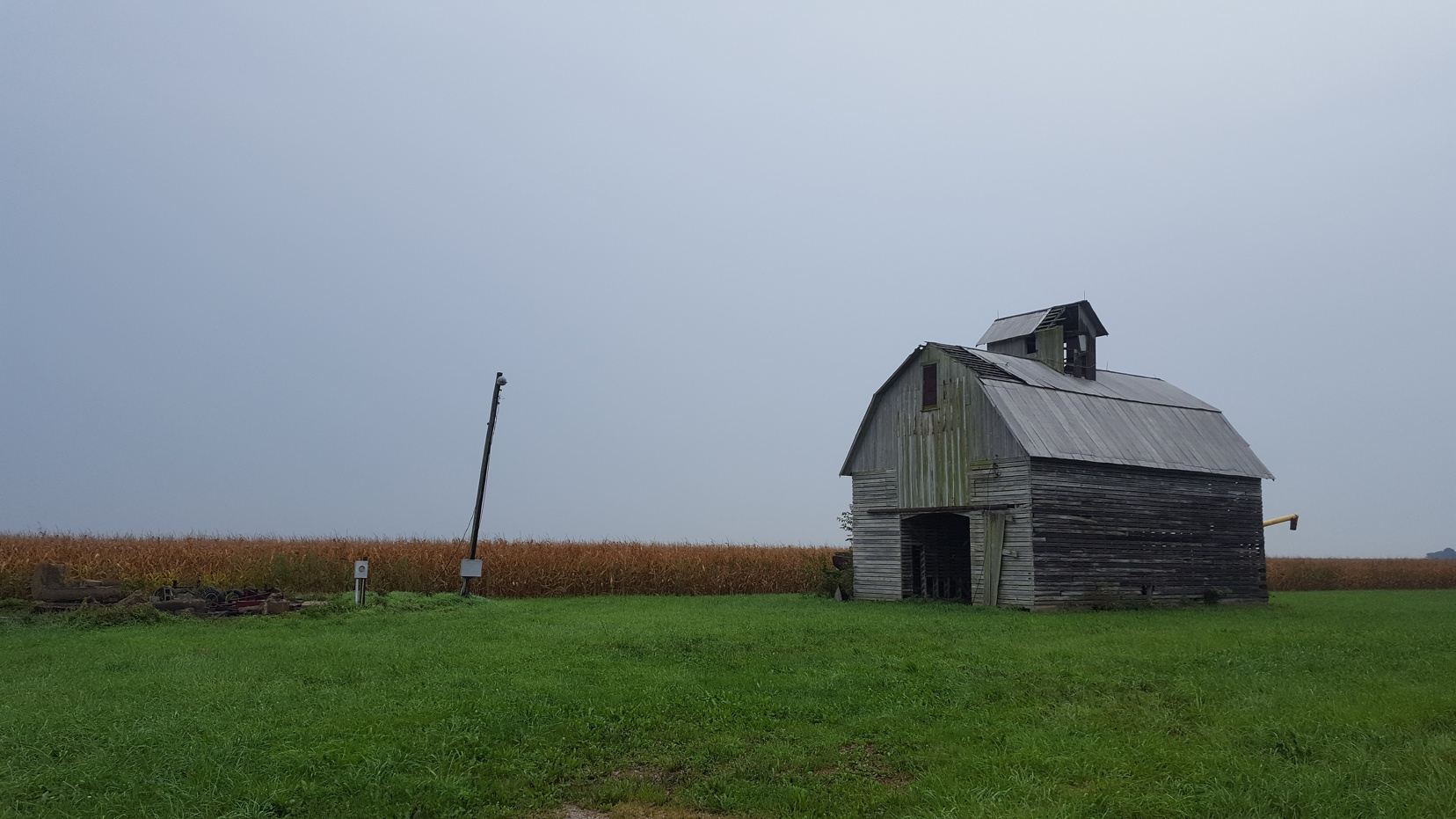 Britt and Nate live near a plethora of old barns. Even if it's raining, I'm totally a sucker for a nice, run down old building.