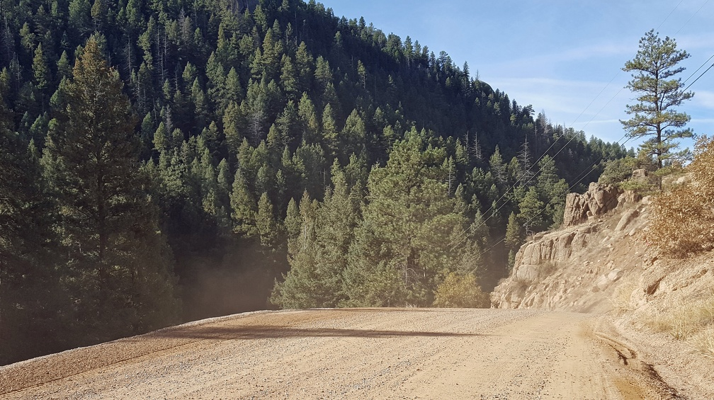 Taking the back roads to Pikes Peak